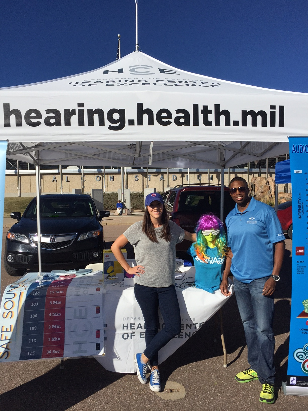 HCE Outreach at the Air Force Academy Football Game, 22 October 2016