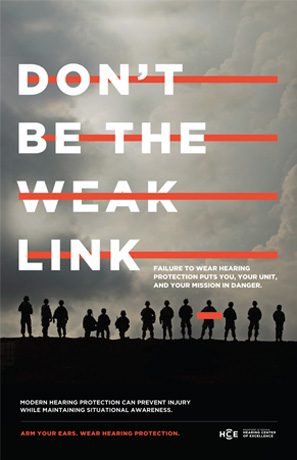 Don't Be the Weak Link poster