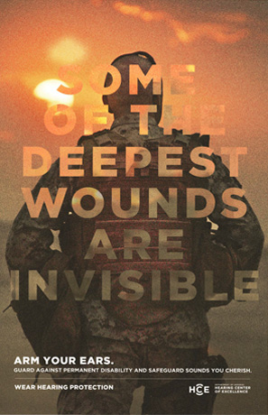 Some of the Deepest Wounds Are Invisible, option 2 poster