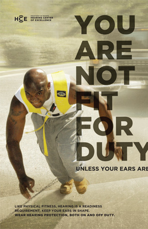 You Are Not Fit, Unless Your Ears Are poster
