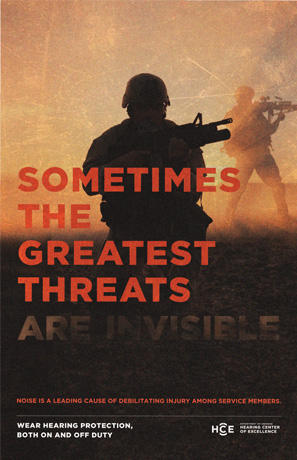 Sometimes the Greatest Threats Are Invisible poster
